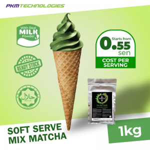 Soft Serve Mix- Matcha Flavoured
