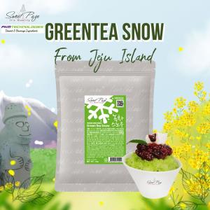 Sweetpage Green Tea Snow Bingsu Powder